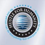 Hustle For Humanity Window Decal